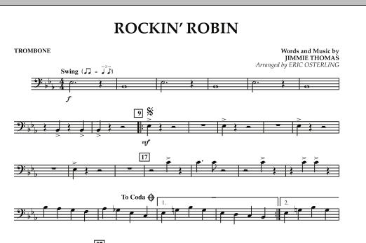 Rockin' Robin - Trombone (Concert Band)
