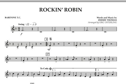 Rockin' Robin - Baritone T.C. (Concert Band)