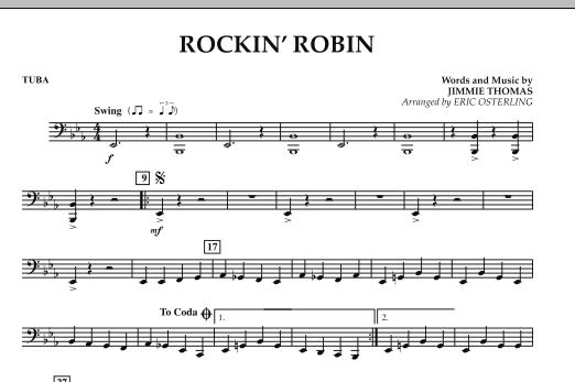 Rockin' Robin - Tuba (Concert Band)