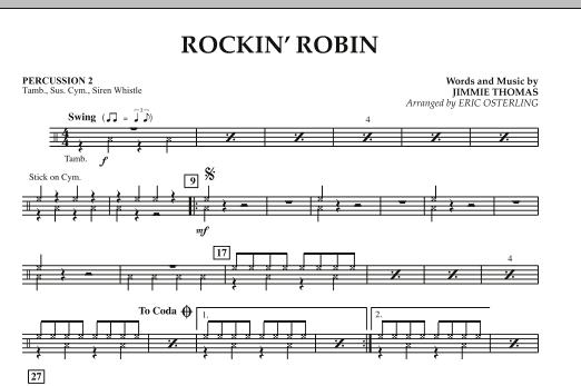 Rockin' Robin - Percussion 2 (Concert Band)