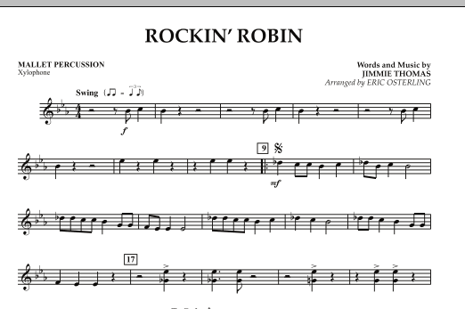 Rockin' Robin - Mallet Percussion (Concert Band)