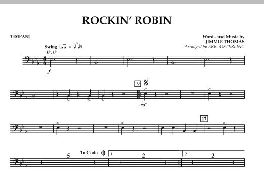 Rockin' Robin - Timpani (Concert Band)