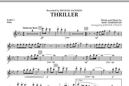 Thriller - Pt.1 - Flute (Concert Band: Flex-Band)