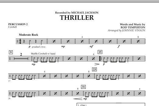 Thriller - Percussion 2 (Concert Band: Flex-Band)