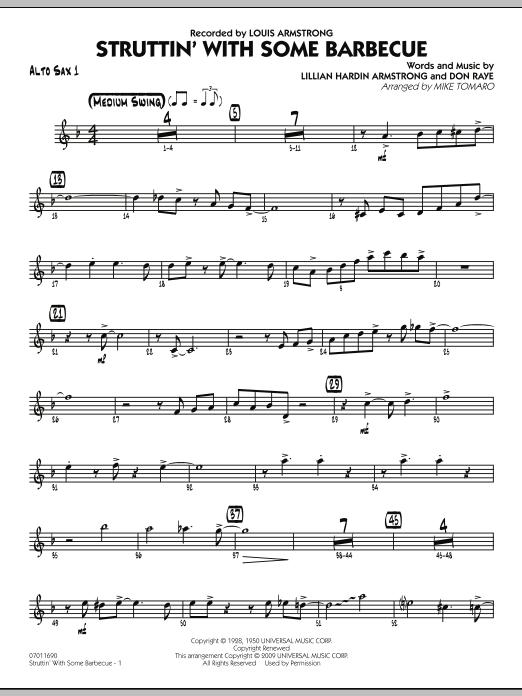 Struttin' with Some Barbecue - Alto Sax 1 (Jazz Ensemble)