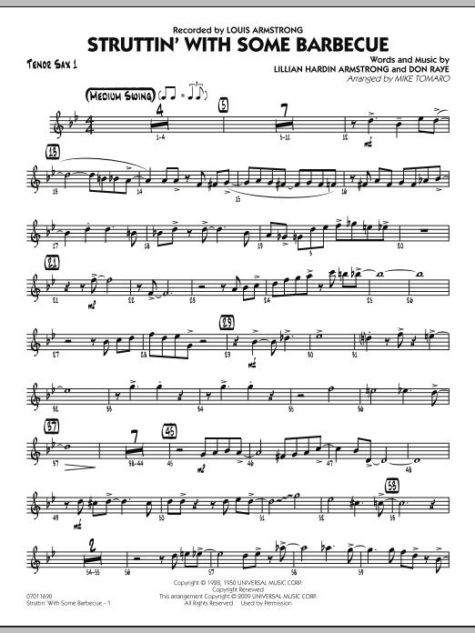 Struttin' with Some Barbecue - Tenor Sax 1 (Jazz Ensemble)