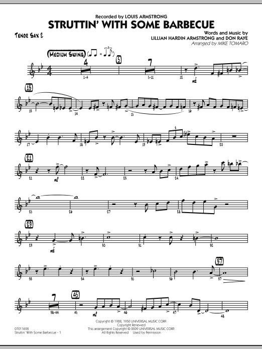 Struttin' with Some Barbecue - Tenor Sax 2 (Jazz Ensemble)