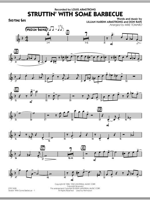 Struttin' with Some Barbecue - Baritone Sax (Jazz Ensemble)