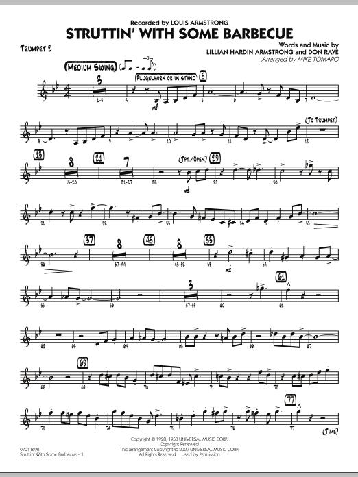 Struttin' with Some Barbecue - Trumpet 2 (Jazz Ensemble)
