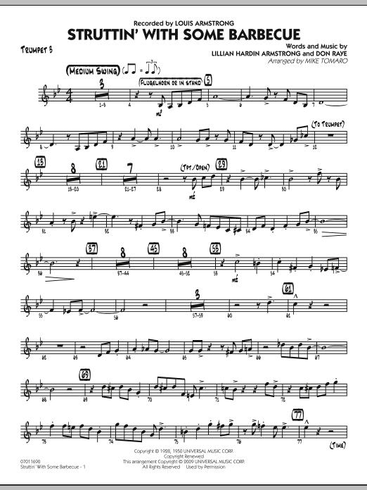 Struttin' with Some Barbecue - Trumpet 3 (Jazz Ensemble)