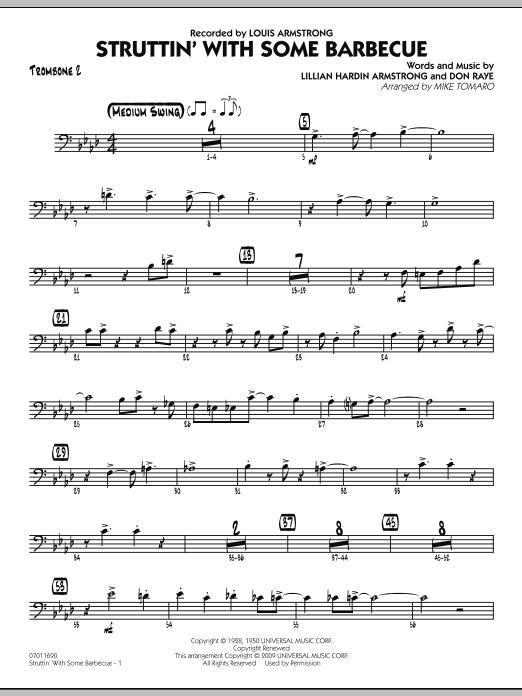 Struttin' with Some Barbecue - Trombone 2 (Jazz Ensemble)