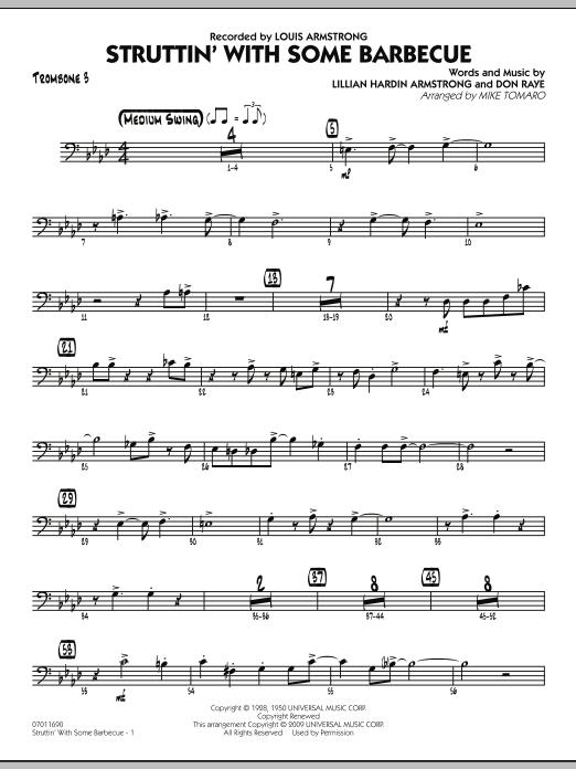 Struttin' with Some Barbecue - Trombone 3 (Jazz Ensemble)