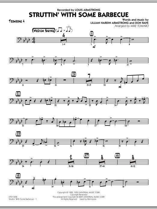 Struttin' with Some Barbecue - Trombone 4 (Jazz Ensemble)