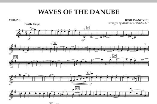 Waves of the Danube - Violin 1 Sheet Music