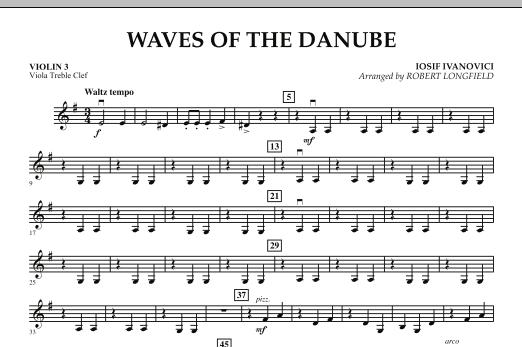 Waves of the Danube - Violin 3 (Viola Treble Clef) Sheet Music