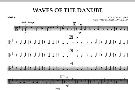 Waves of the Danube - Viola Sheet Music
