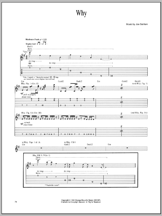 Why Sheet Music