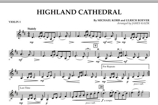 Highland Cathedral - Violin 1 (Orchestra)