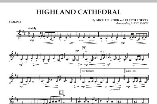 Highland Cathedral - Violin 2 (Orchestra)