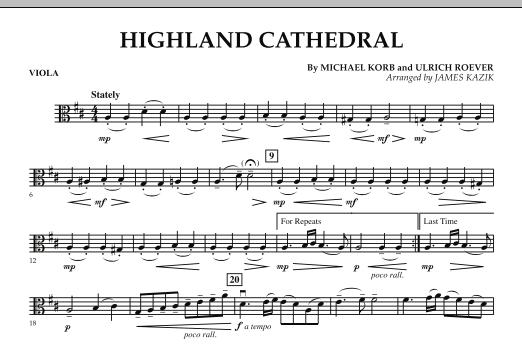 Highland Cathedral - Viola (Orchestra)