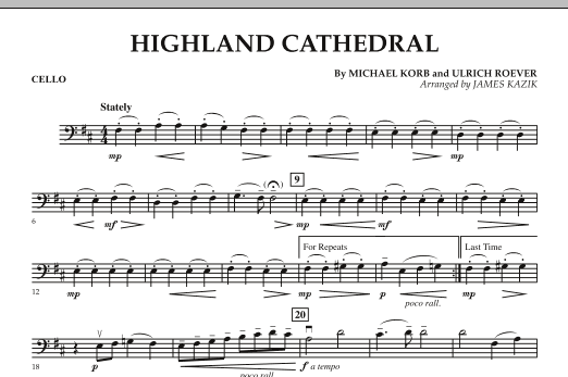 Highland Cathedral - Cello (Orchestra)