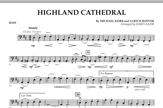 Highland Cathedral - Bass (Orchestra)
