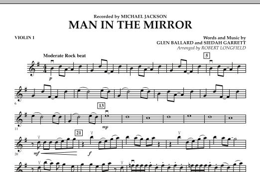 Man in the Mirror - Violin 1 (Orchestra)
