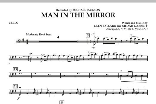 Man in the Mirror - Cello (Orchestra)