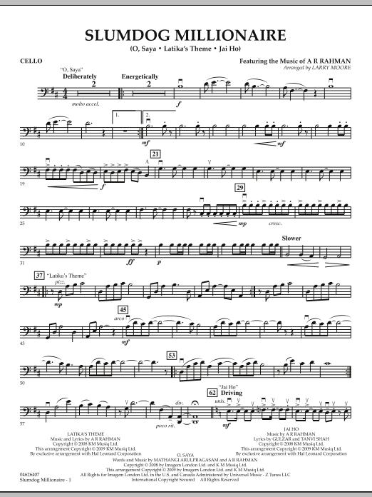 Slumdog Millionaire - Cello (Orchestra)