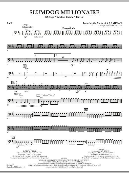 Slumdog Millionaire - Bass (Orchestra)