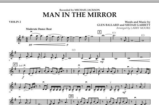 Man in the Mirror - Violin 2 (Orchestra)