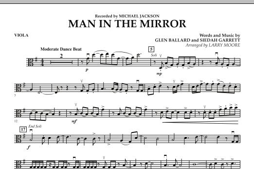 Man in the Mirror - Viola (Orchestra)