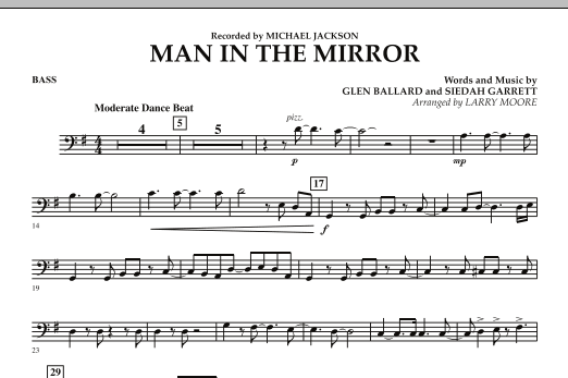 Man in the Mirror - Bass (Orchestra)