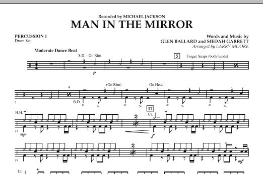 Man in the Mirror - Percussion 1 (Orchestra)