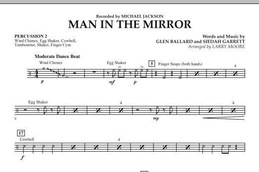 Man in the Mirror - Percussion 2 (Orchestra)