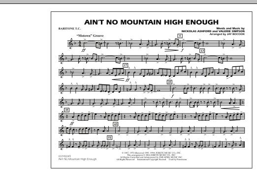Ain't No Mountain High Enough - Baritone T.C. (Marching Band)