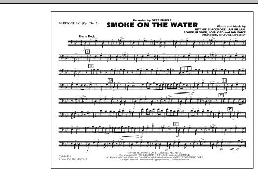 Smoke On The Water - Baritone B.C. (Opt. Tbn. 2) (Marching Band)