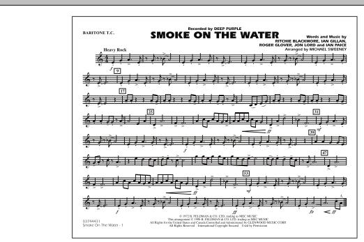 Smoke On The Water - Baritone T.C. (Marching Band)