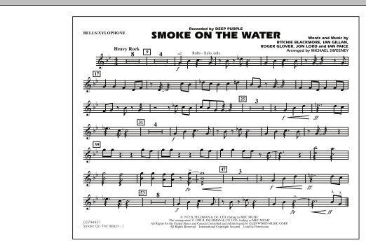 Smoke On The Water - Bells/Xylophone (Marching Band)