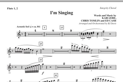 I'm Singing - Flute 1 & 2 Sheet Music