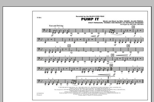 Pump It - Tuba (Marching Band)