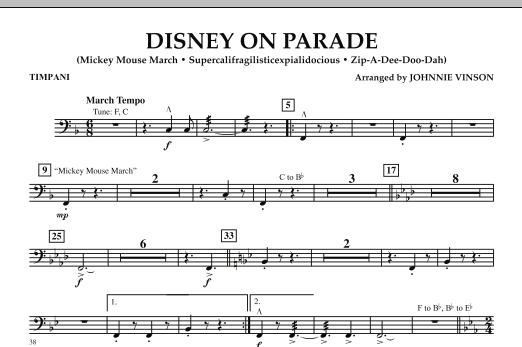 Disney on Parade - Timpani (Flex-Band)