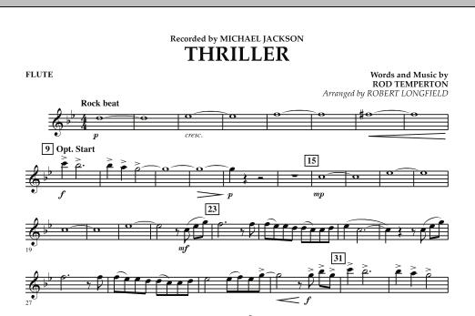Thriller - Flute (Concert Band)