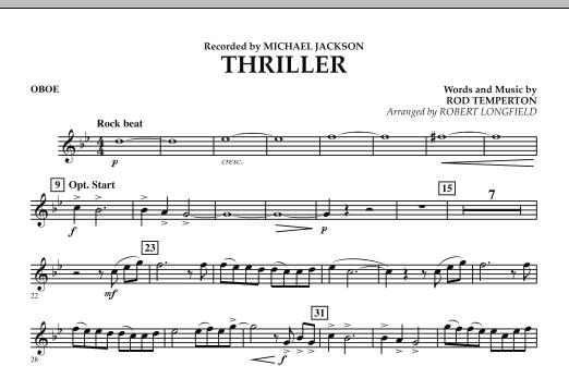Thriller - Oboe (Concert Band)
