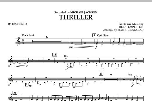 Thriller - Bb Trumpet 2 (Concert Band)