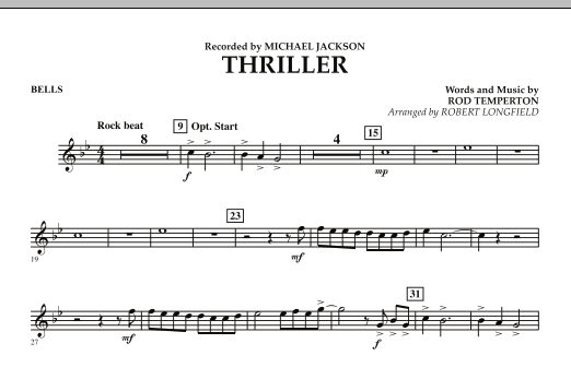 Thriller - Mallet Percussion (Concert Band)