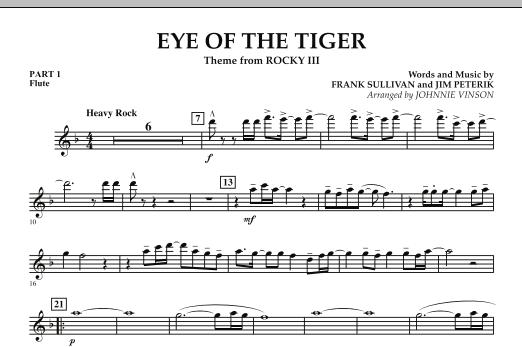 Eye Of The Tiger - Pt.1 - Flute (Concert Band: Flex-Band)