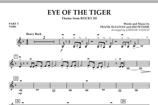 Eye Of The Tiger - Pt.3 - Violin (Concert Band: Flex-Band)
