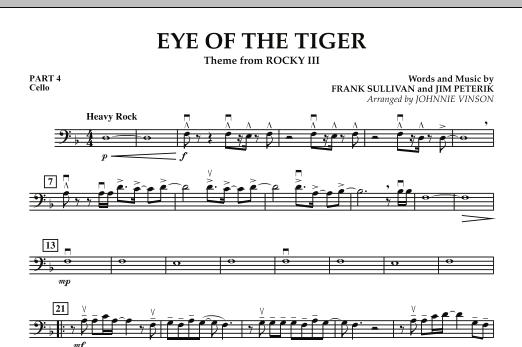 Eye Of The Tiger - Pt.4 - Cello (Concert Band: Flex-Band)