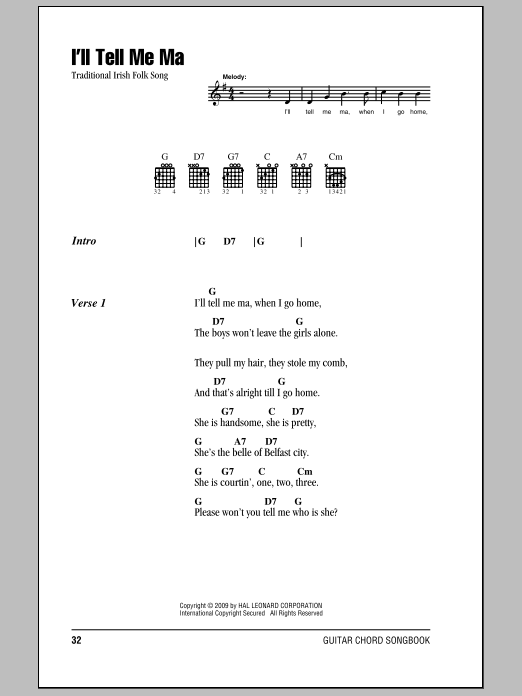 The Patriot Game by Traditional Irish Folk Song - Hal Leonard ...